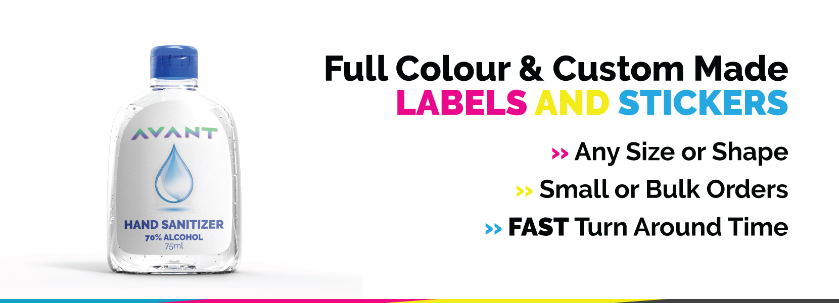 Full Colour Labels and Stickers